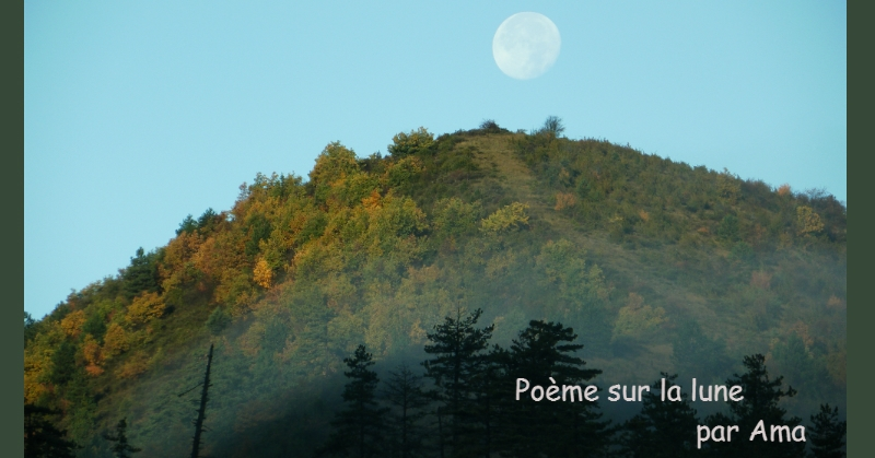 Poème sur la lune