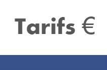 Tarifs 2019